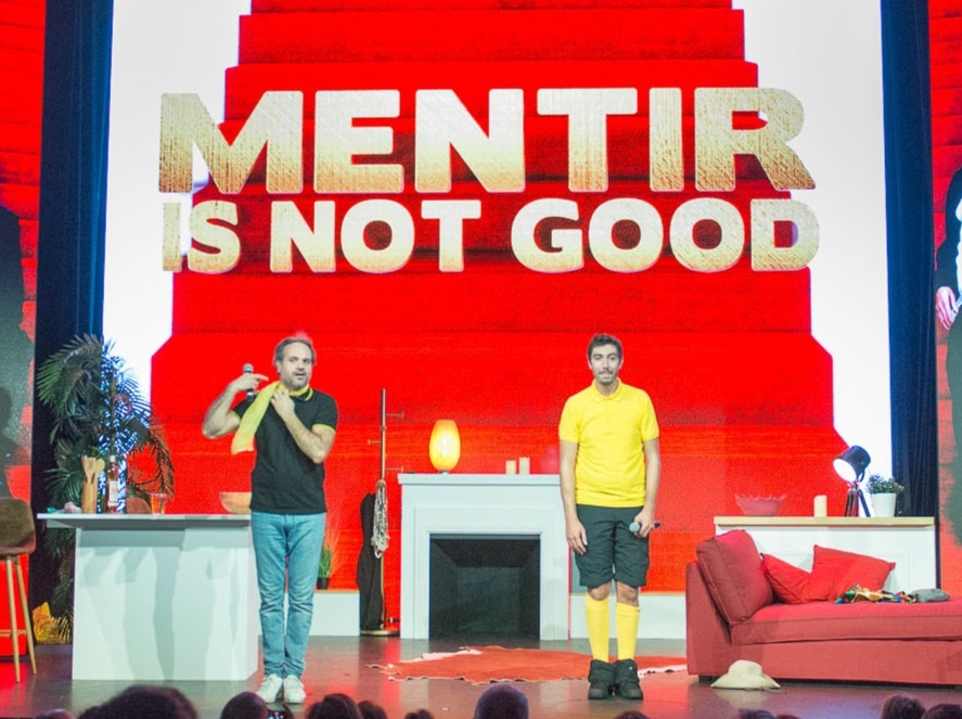 Mentir Is Not Good theatre comedie de paris
